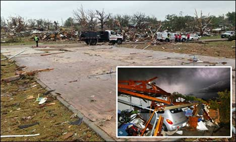 US: Six people dead as 200mph tornado hits Texas city