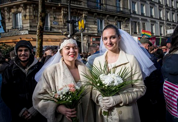 Same-sex marriage legalised in France