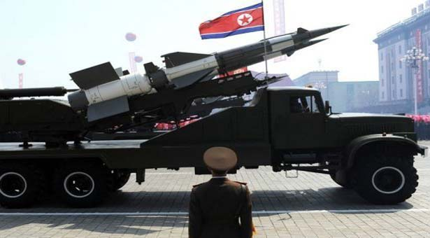 North Korea fires three short-range missiles
