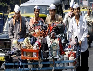 Mumbai's iconic dabbawalas shift to motorbikes for more efficient service