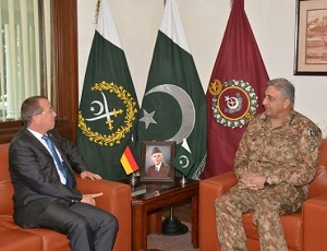 Germany assures Pakistan of continued support in fighting terrorism.