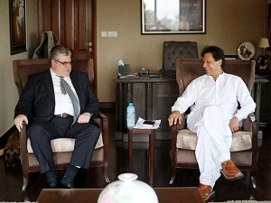 Russian envoy meets Imran Khan at Bani Gala